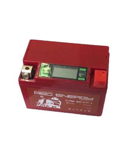 Аккумулятор12В4 АчREDENERGYDS1204(YTX4L-BS)дисплей, гелевый, обратная полярность(114*69*86мм)