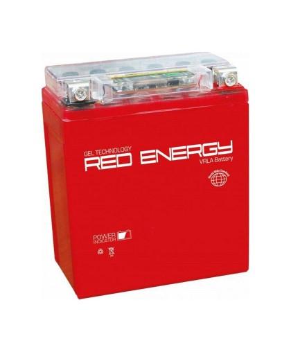 Аккумулятор 12В 7Ач RED ENERGY RE1207.1 (YTX7L-BS) (гелевый, красный) (обр.полярн) (114*69*131мм)