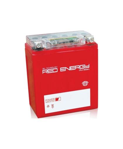Аккумулятор 12В11Ач RED ENERGY RE1211 (YTZ12S) (гелевый, красный) (прямая полярн) (151*86*112мм)
