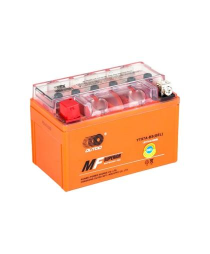 Аккумулятор OUTDO 12В 7 А/ч UTX7A-BS iGEL, (150 х 86 х 94) прямая полярность