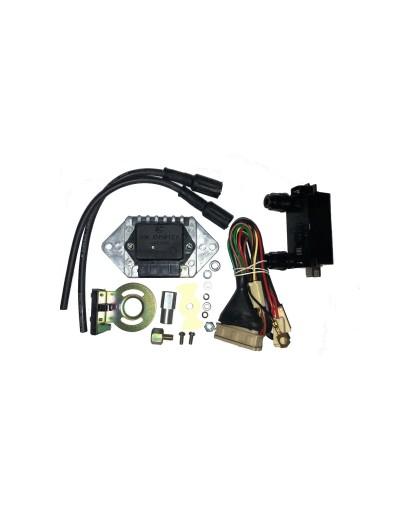 Микропроцессорная бесконтактная система зажигания 1147.3734 ИЖ-ЮПИТЕР с катушкой зажигания 135.3705М и силиконовыми в/в проводами (СОВЕК)