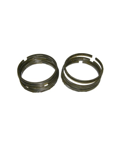 Кольца Урал 3 ремонт чугунные 79,0 (в комплекте:4 компрессионных+4 маслосъёмных кольца)