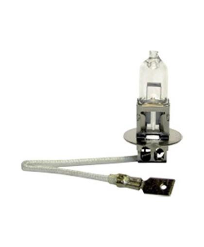 Лампа фарная 12В 100Вт (Н3) галогеновая (Pk22s) с проводом (3122) (52350) ИЖ