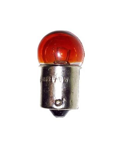 Лампа 12В 10Вт с цоколем, желтая (BA15s) ИЖ