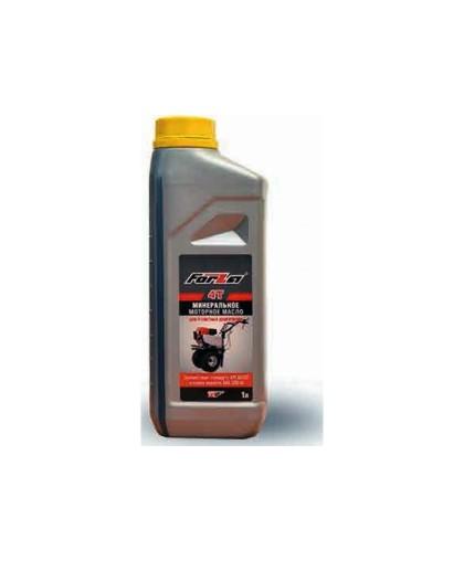 Масло минеральное FORZA SAE 10W-40 API SG/CD (1л) для 4-х тактных двигателей