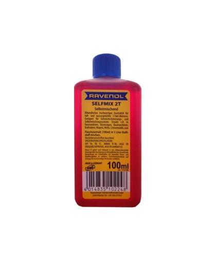 Масло минеральное RAVENOL Selfmix (100гр) смешиваемоеуниверсальноедля 2-х тактных двигателей (632101)