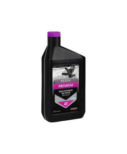 Масло REZOIL PREMIUM 5W-30 (0.946л) полусинтетическое, для 4-х тактной мототехники