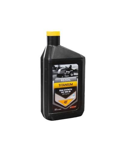 Масло полусинтетическое REZOIL Titanium 10W-40 (0.946л) для 4-х тактной мототехники