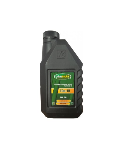 "Масло трансмиссионное ""Oil Right"" Тэп-15 TM-2-18 GL-2 (1л) ""нигрол"""
