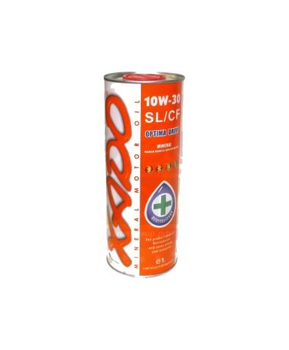 Масло минеральное XADO Atomic Oil 10W-30 SL/CF (1л) для 4-х тактной мототехники (XA 24111)