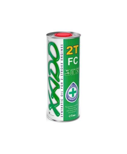 Масло XADO Atomic Oil 2T FC (1л) синтетическое, для 2-х тактных скутеров, бензопил (XA 20116)