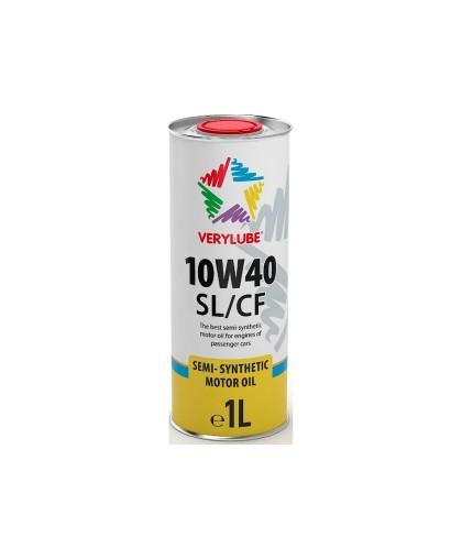 Масло XADO Verylube 10W-40 SL/CF (1л) полусинтетическое, для 4-х тактной мототехники (ХВ 20168)
