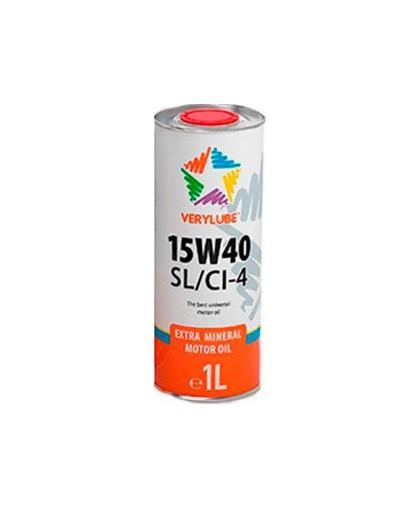 Масло полусинтетическое XADO Verylube 15W-40 SL/Cl-4 (1литр) для 4-х тактных скутеров (ХВ 20155)