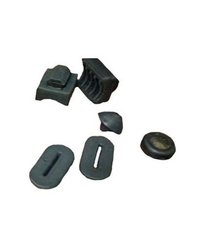 Набор резиновых деталей бардачка ИЖ