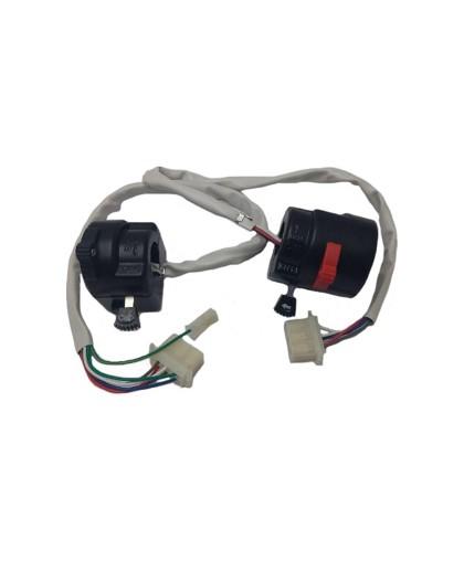 Блок переключателей (правый и левый) руля с проводами УРАЛ/ДНЕПР