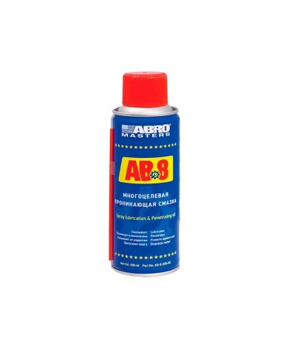Смазка проникающая ABRO Masters AB-8-200-R (200мл.)