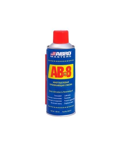 Смазка проникающая ABRO Masters AB-8-R (450мл.)
