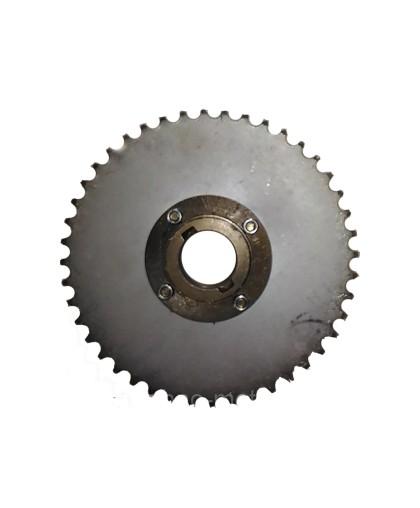 Звездa задняя с муфтой 44 зуба диаметр 66