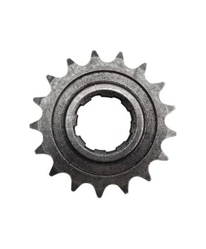 Звезда ведущая 17 зубьев (оксидированная, черная) ИЖ