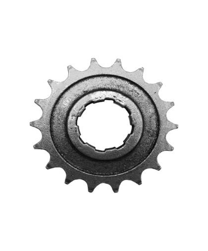 Звезда ведущая 18 зубьев 1-128 (оксидированная, черная) мотоцикла ИЖ